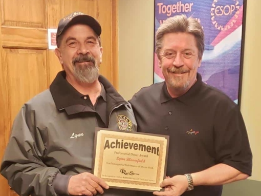 Regal Truck Drivers Reach Million Mile Mark  | Jamestown, NY