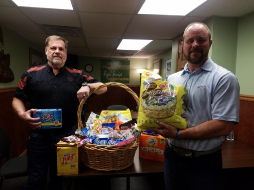 Easter for the local Veterans at Soldiers and Sailors Home